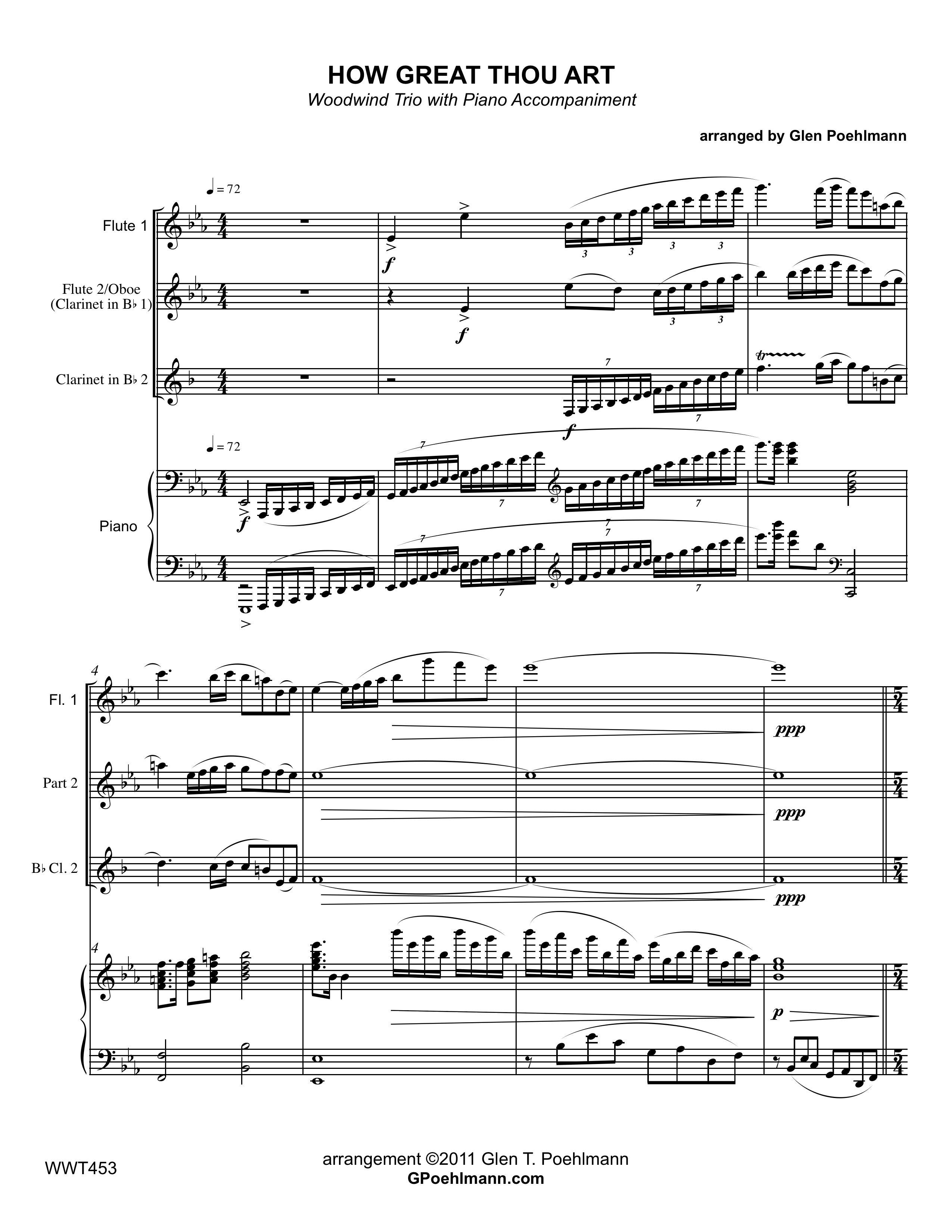 how great thou art piano pdf